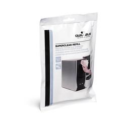 Салфетки Durable Superclean refill д/пластика зап.блок 100 шт