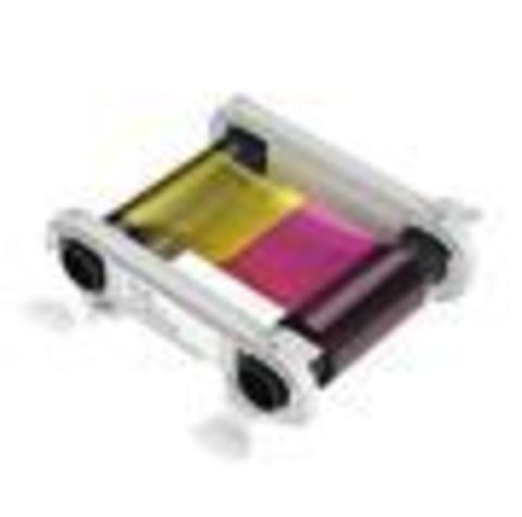 Лента для полноцветной печати YMCKO, 200 карт для Zenius (R5F002EAA)
