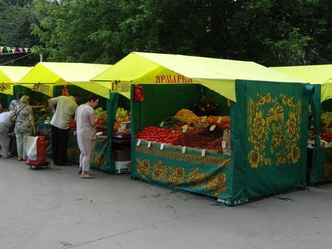 Торговая палатка для Ярмарки «ДОМИК» под заказ.
