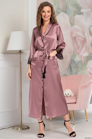 Длинный халат Mia-Amore Olivia 3649 (70% нат.шелк)