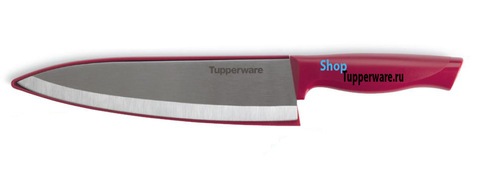 Нож Гурман От Шефа в бордовом цвете