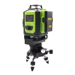 Лазерный уровень  Fukuda MW-94D-4GJ 16 зеленых лучей самонивелирующийся