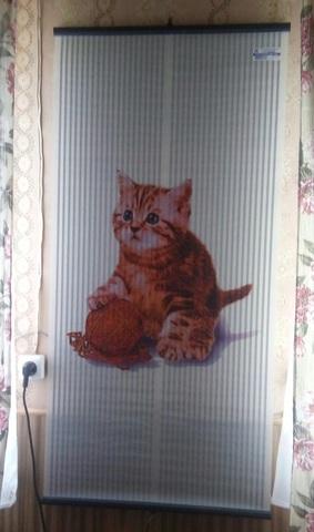 Обогреватель настенный Котёнок