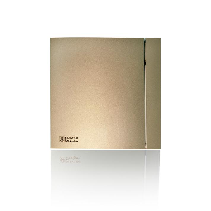 Накладные вентиляторы S&P серия Silent Design Вентилятор накладной S&P Silent 300 CHZ Plus Design 3C Champagne (таймер, датчик влажности) 003шампань.jpeg