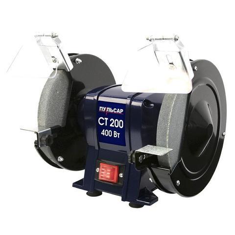 Станок точило ПУЛЬСАР СТ 200 (400Вт, диск 200x20x16мм 2950 об/мин)
