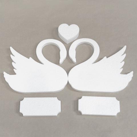 Свадебный набор фигур из пенопласта
