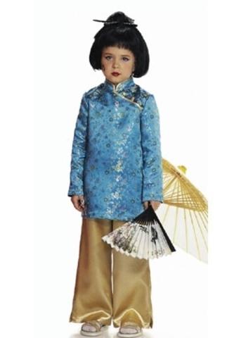 Выкройка Burda (Бурда) 2449 — Китайская девочка