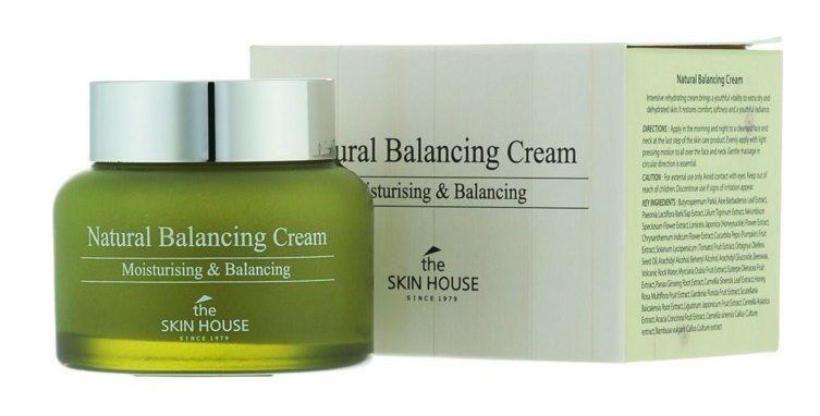 Балансирующий и увлажняющий крем The Skin House Natural Balancing купить в интернет магазине корейской косметики