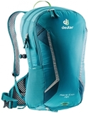 Велорюкзак с сеткой Deuter Race Exp Air 14+3 Petrol-Arctic