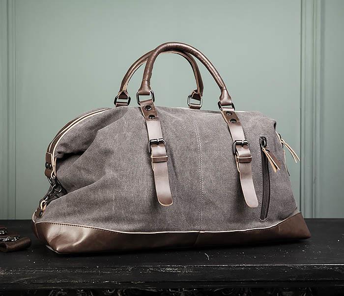 BAG478-3 Мужская сумка саквояж для поездок фото 02