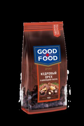 GOOD FOOD Кедровый орех в шоколадной глазури 150г