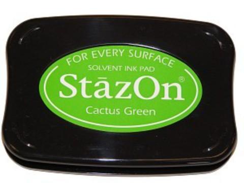 Архивные чернила StazOn  Cactus Green