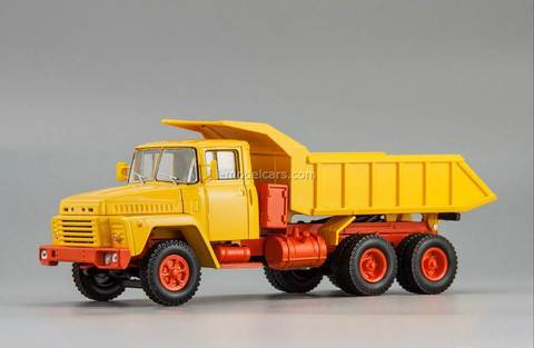 KRAZ-251 dump 1981 Exhibition 1:43 Nash Avtoprom