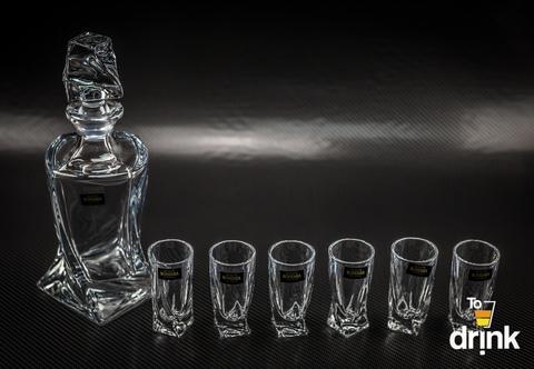 Набор для водки и ликера из 7 предметов