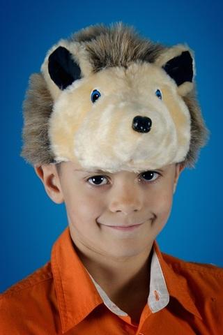 Карнавальная шапочка Ёжик