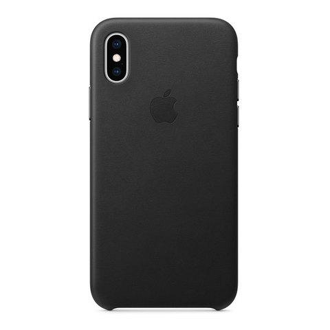 Чехол для iPhone X - Кожаный