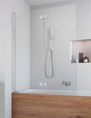 Шторка на ванну  Radaway Essenza New  PND 100 207210-01L левая, крепится слева, профиль хром, стекло прозрачное 100x150см.