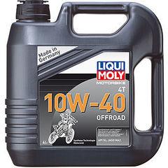 3056 LiquiMoly НС-синт.мот.масло д/4-т.мотоц.Motorbike 4T Offroad  10W-40 SL;JASO MA2(4л)
