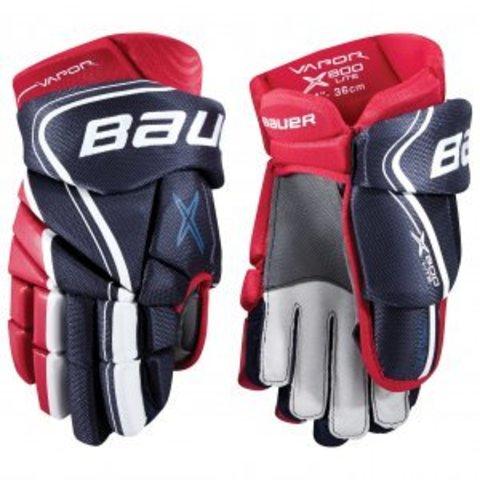 Перчатки хоккейные BAUER VAPOR X800 LITE S18 SR