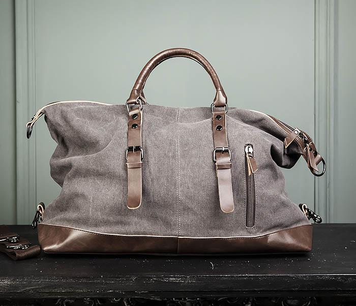 BAG478-3 Мужская сумка саквояж для поездок фото 04
