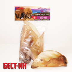 Бест-ин Ухо Му говяжье 3 шт 100 гр