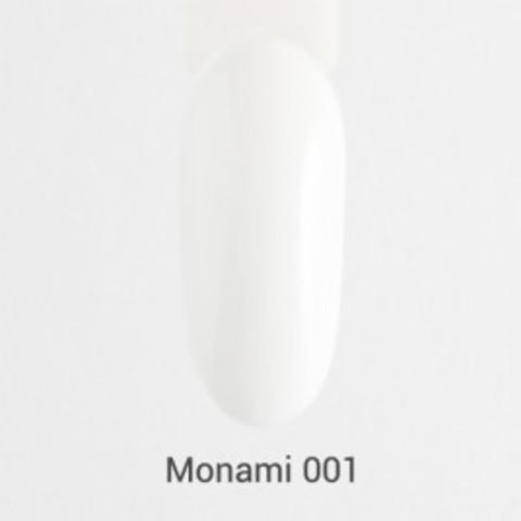 Monami Гель-лак №001 (белый)
