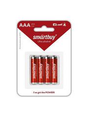 Батарейка алкалиновая Smartbuy LR03 AAA