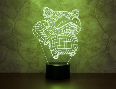 Лампа Енот