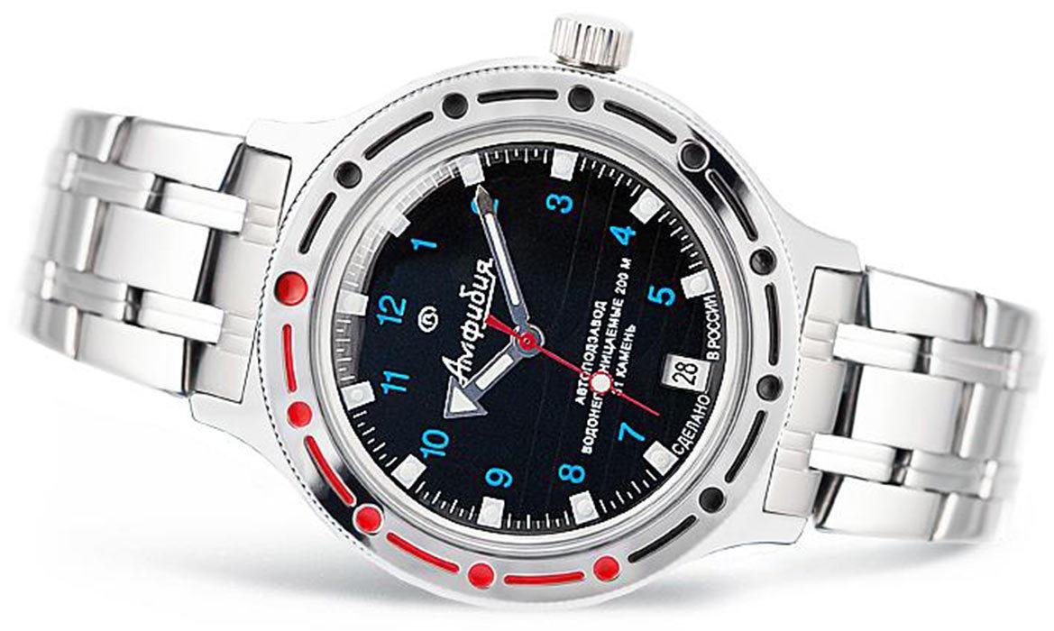 Профессиональные моряки, водолазы и подводники выбирали часы amfibia за их простоту и надежность.