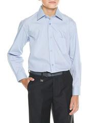 616D-4 рубашка для мальчиков, голубая