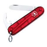 Нож перочинный My First Victorinox прозрачный красный (0.2363.T)