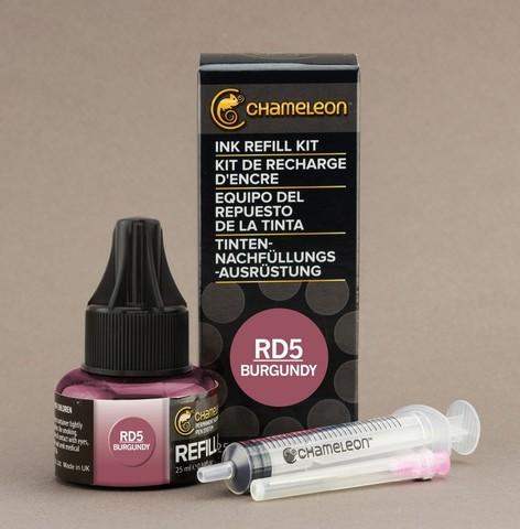 Чернила для маркеров Chameleon бургундский RD5, 25 мл