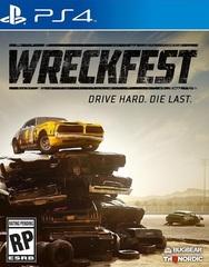 Sony PS4 Wreckfest (русская версия)