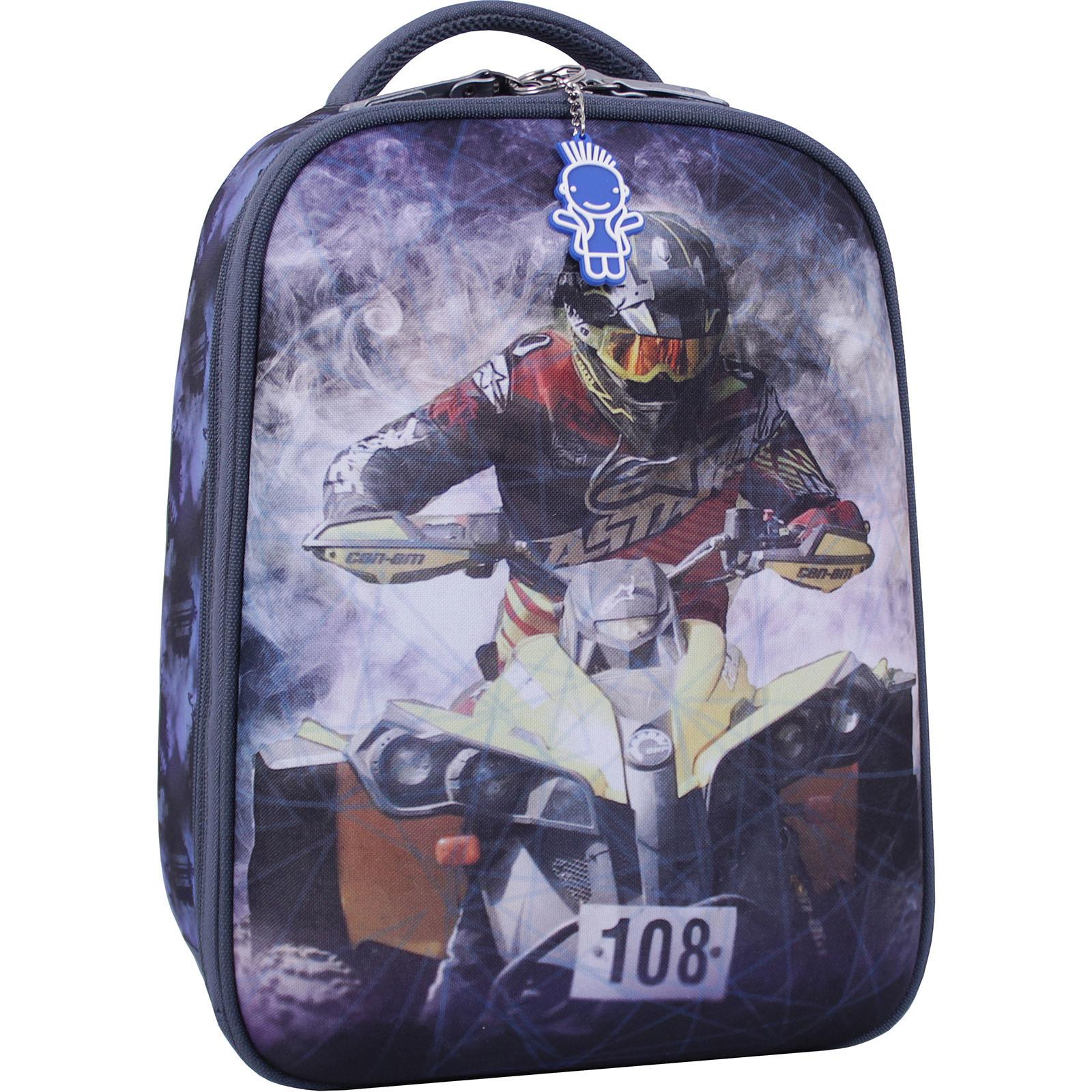 Школьные рюкзаки Рюкзак Bagland Turtle 17 л. серый 505 (0013466) IMG_2030_суб.505_.JPG