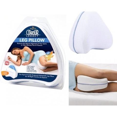 Анатомическая подушка для ног Leg Pillow со съёмным чехлом