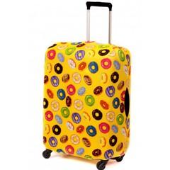 чехол для чемодана «пончик в желтом»