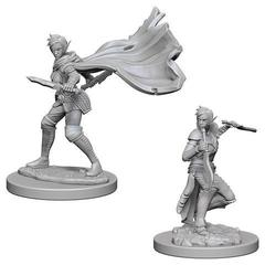Pathfinder Deep Cuts Unpainted Miniatures - Elf Female Rogue