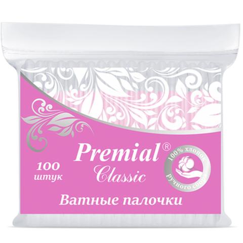 Bumfa Group Premial Classic Ватные палочки (в пакете) 100шт