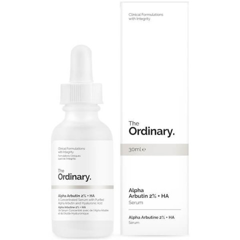 Сыворотка THE ORDINARY ALPHA ARBUTIN 2% + HA CONCENTRATED SERUM