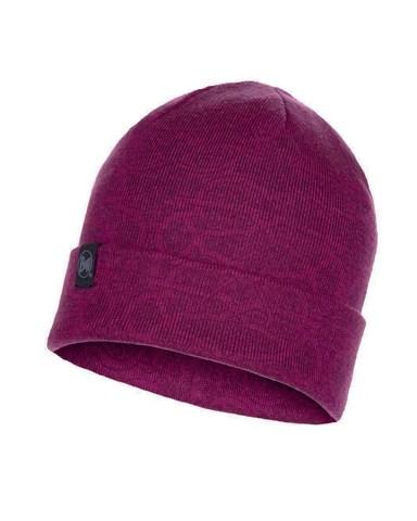 Вязаная шапка Buff Hat Knitted Greta Purple Raspberry