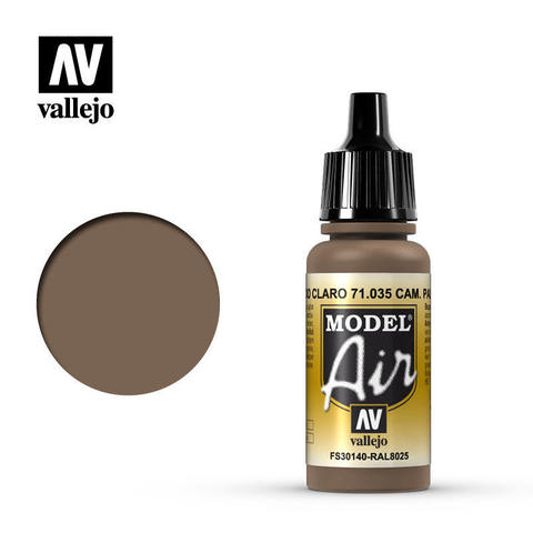 Model Air Camouflage Pale Brown 17 ml.