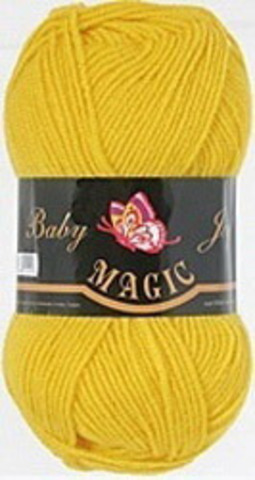 Пряжа Baby Joy (Magic) 5721 Желтый фото