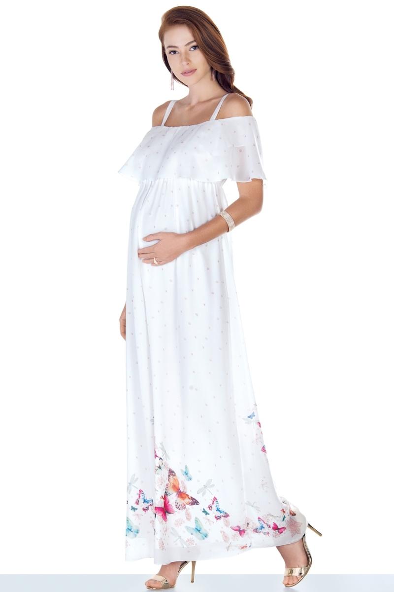Платье 09470 белый