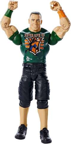 Фигурка Джон Сина (John Cena) #67 - рестлер Wrestling WWE, Mattel