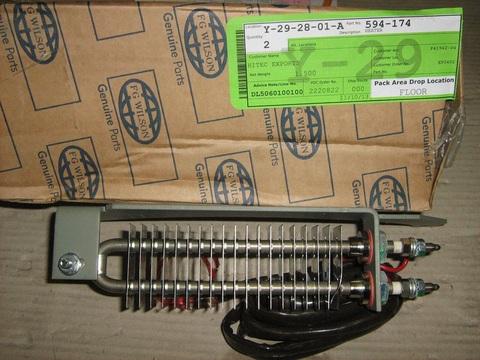 Подогреватель обмоток генератора / Anti Condensation HEATER AH1 АРТ: 594-174
