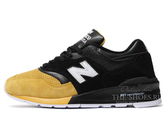Кроссовки Мужские New Balance 997 Black Brown Edition