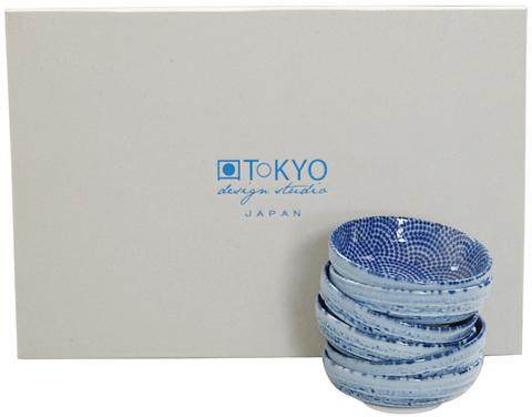 Набор чаш 6шт Tokyo Design Studio Nippon Blue 7598