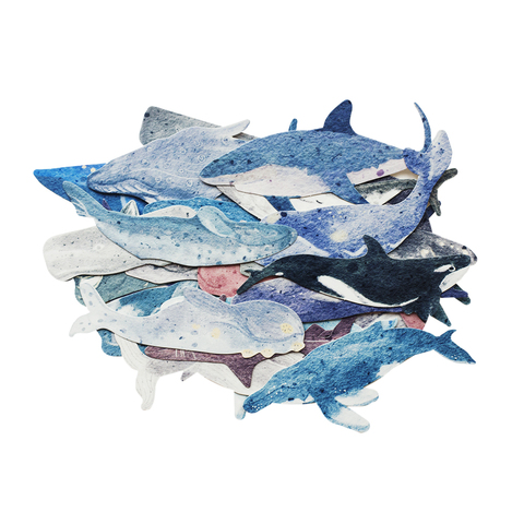 Набор открыток Whales