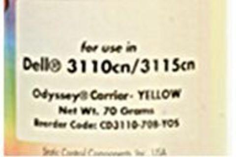 Носитель - девелопер Xerox Phaser 6180, Phaser 6280, Epson C2800, C3800 желтый 70g (Static Control)