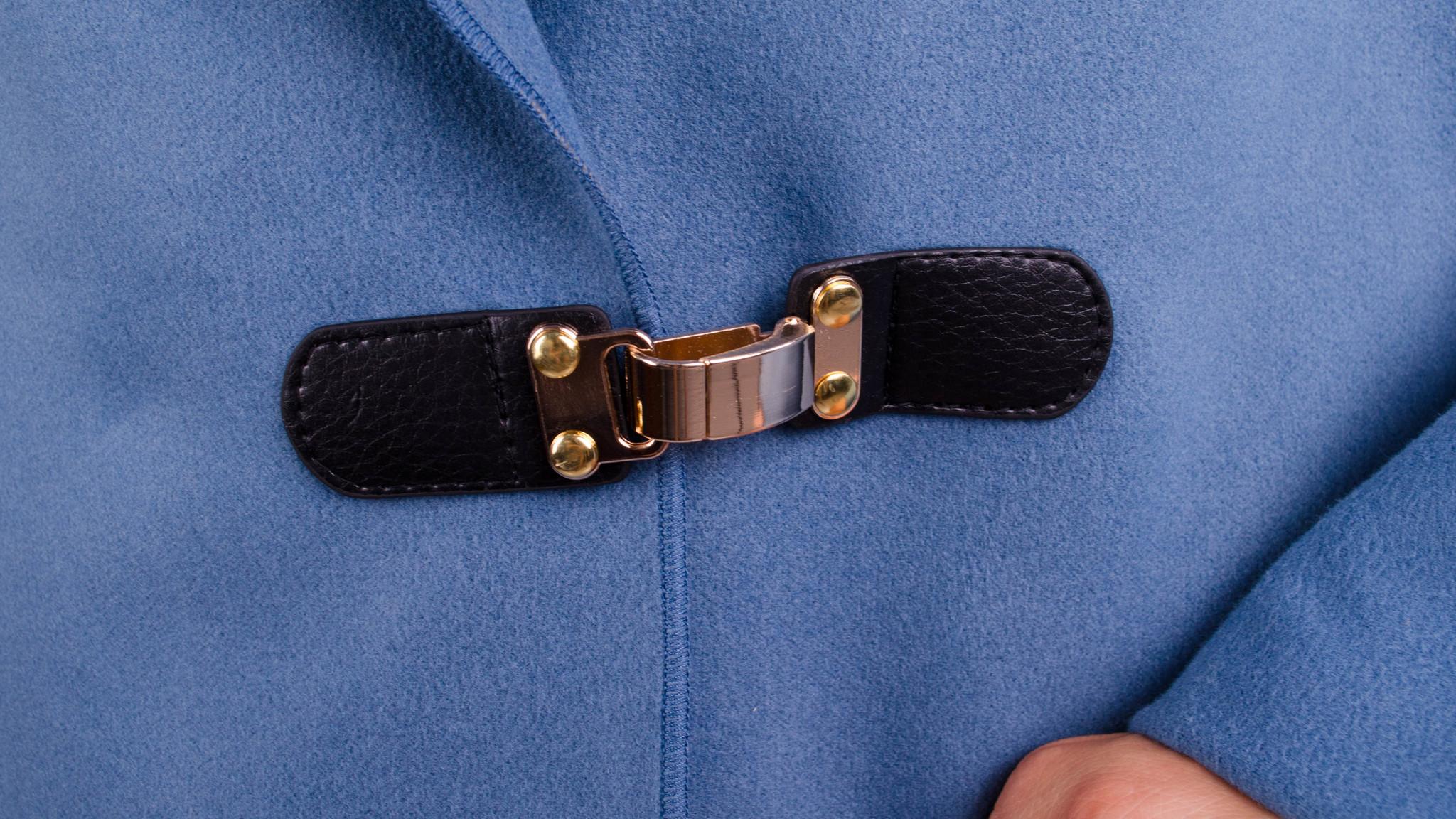 80f4b506ce1 Сарена. Женское пальто-кардиган больших размеров. Джинс. - купить по ...
